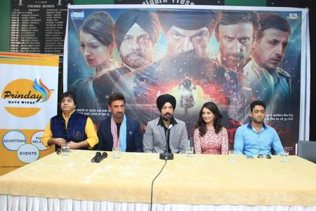 October 30, 2014 Yoddha team held Press Conference in Chandigarh