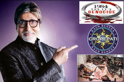 Amitabh Bachchan to deliver the summons by Sikh