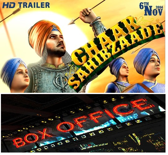 Full Box Office  3D Animation movie Chaar Sahibzaade