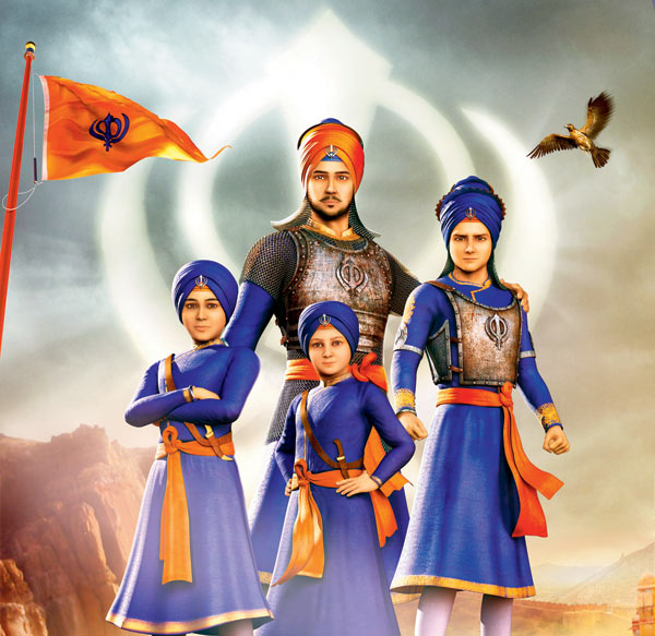 "Review Punjabi Movie ""Chaar Sahibzaade"""