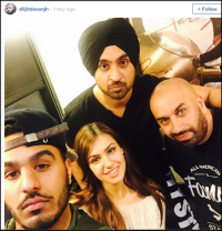 Singer Diljit Dosanjh starts an Entertainment Company called 'D6′