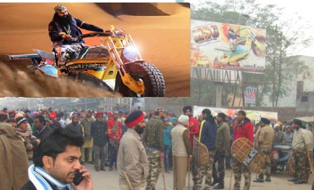 Dera followers, Sikhs clash