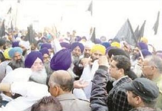 Sikhs-protest-in-Sirsa msg