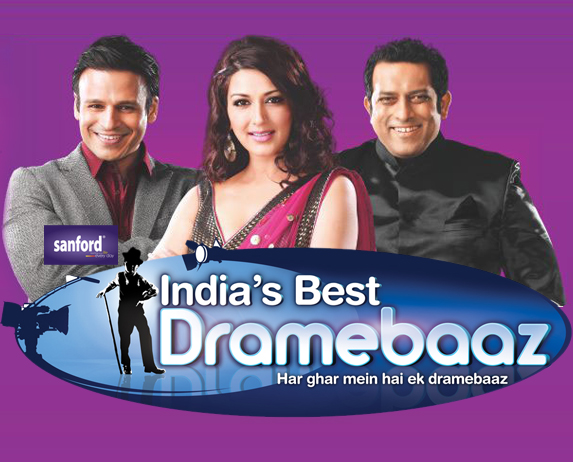 India's Best Dramebaaz reality television show on Zee TV