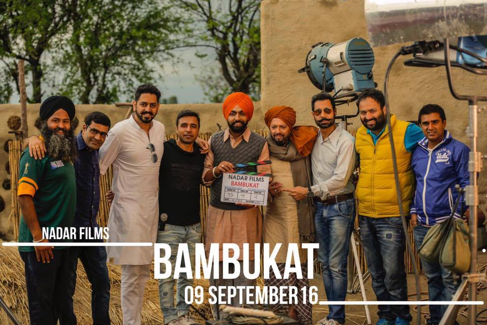 Ammy Virk Started Shooting Of New Punjabi Movie Bambukat